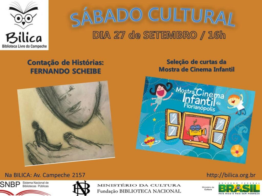BILICA sabado cultural setembro