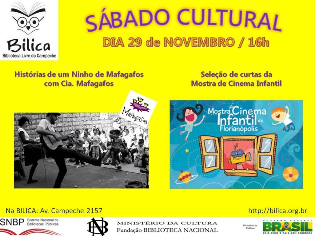 sabado cultural novembro