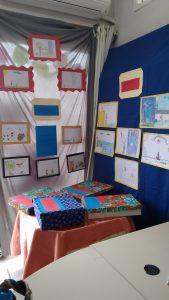 Exposição dos desenhos