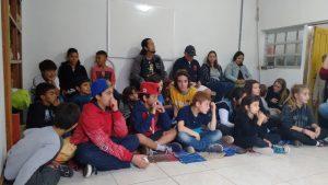 A festa recebeu a comunidade do bairro Campeche