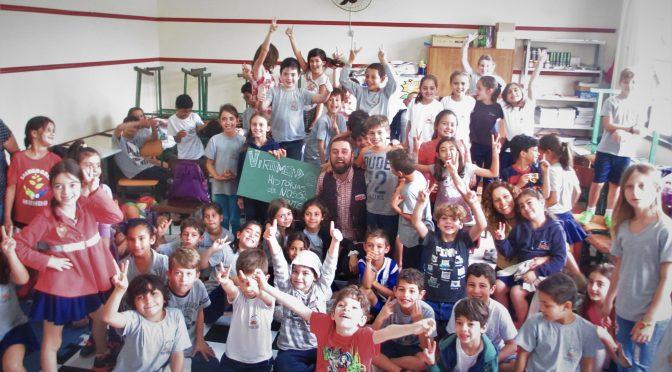 VIRAMUNDO na Escola Januária no Campeche